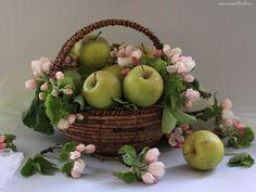 Cesta de Frutas para nacimiento
